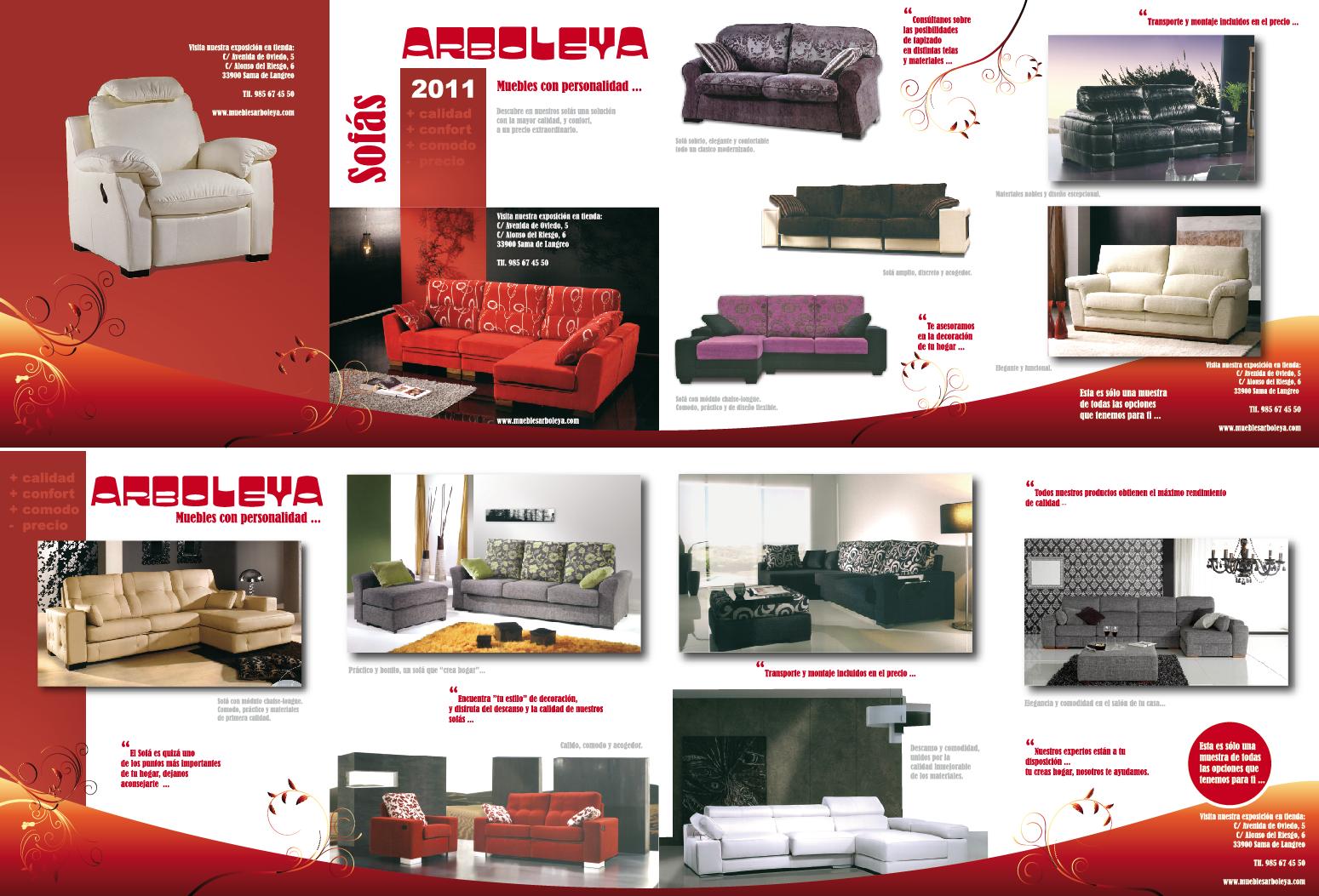 Buzoneo de sofas en langreo llana publicidad for Catalogo de muebles