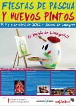 Cartel Huevos Pintos Llana Publicidad